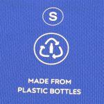 Sportshirt Blau Funktionsshirt Nachhaltig Recycled